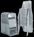 Silla Mod. 1800 Estibable y Plegable