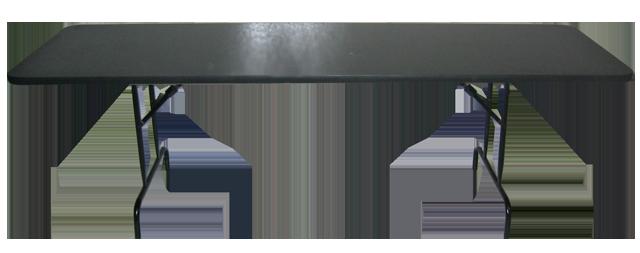 mesa plegable de formica 76 x mts grupo disa